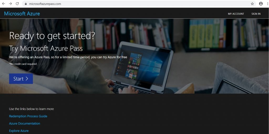 Microsoft Azure Pass - Getting Started