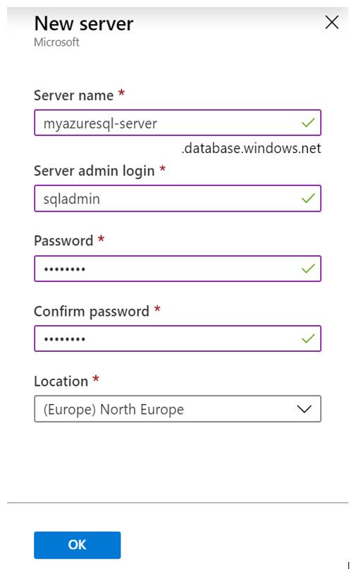 Microsoft Azure SQL Server